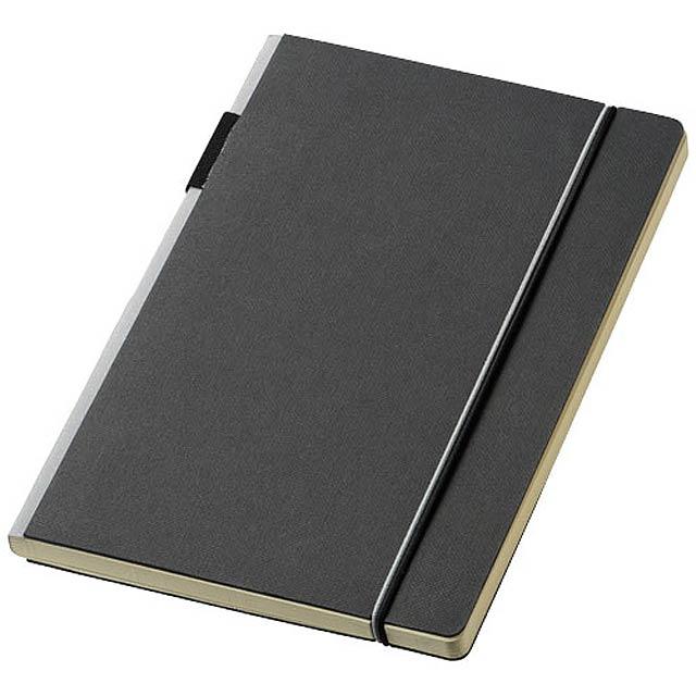 Zápisník s pevnou obálkou A5 Cuppia - černá