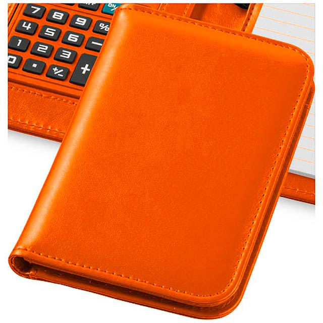 Zápisník s kalkulačkou Smarti - oranžová