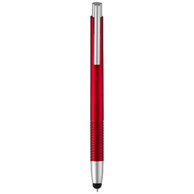 Kuličkové pero a stylus Giza - červená