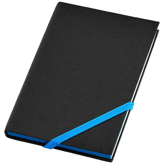 Malý zápisník s pevnou obálkou Travers - černá