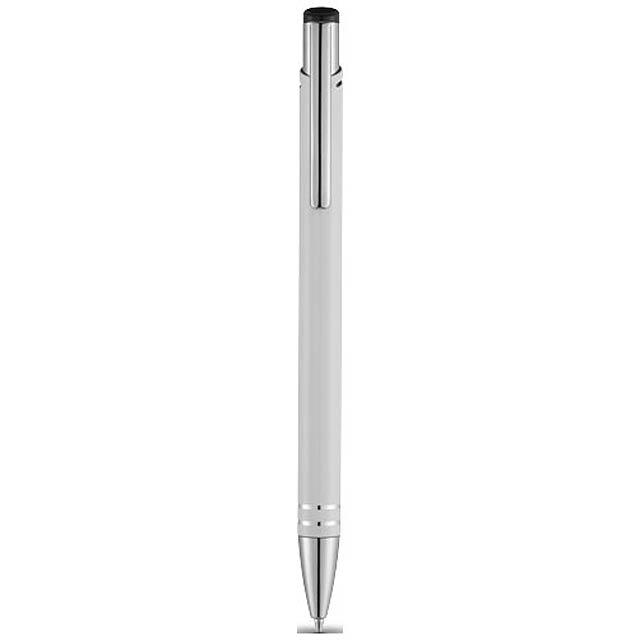 Kuličkové pero Hawk - bílá