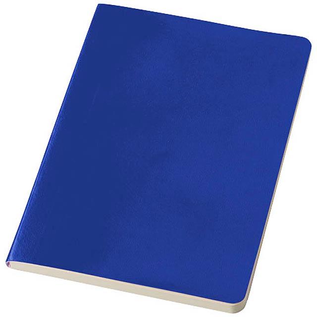 Zápisník s měkkou obálkou A5 Gallery - královsky modrá