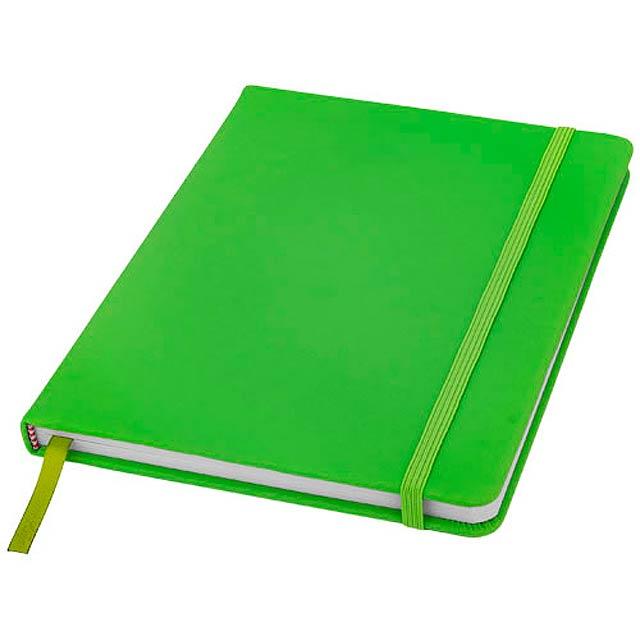 Zápisník s pevnou obálkou A5 Spectrum - citrónová - limetková