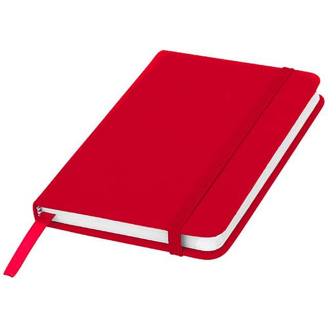Zápisník s pevnou obálkou A6 Spectrum - červená