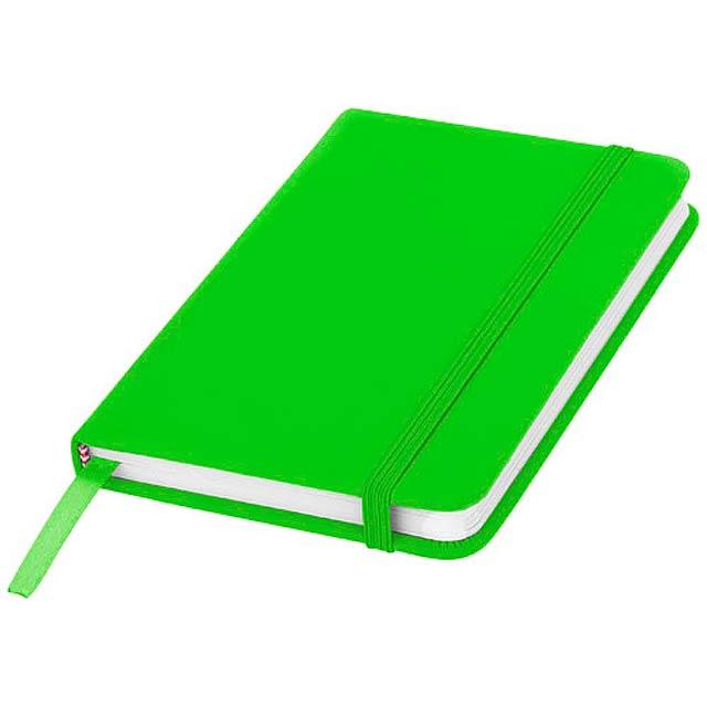 Zápisník s pevnou obálkou A6 Spectrum - citrónová - limetková