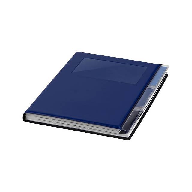Zápisník s pevnou obálkou A5 Tasker - modrá