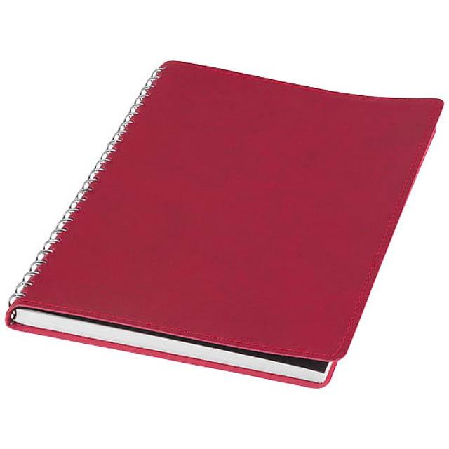 Zápisník s měkkou obálkou A5 Brinc - červená