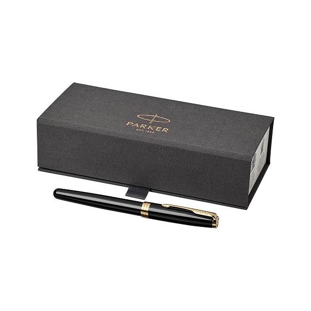 Kuličkové roller pero Sonnet - čierna