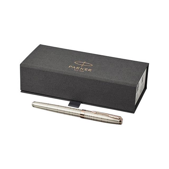 Kuličkové roller pero Sonnet - strieborná