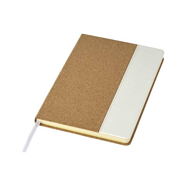 Korkový zápisník A5 Corby - hnědá