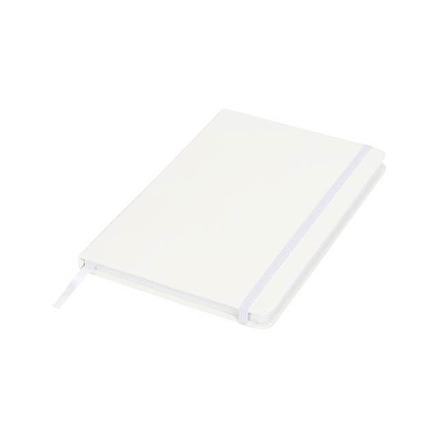 Spectrum A5 Notizbuch mit gepunkteten Seiten - Weiß