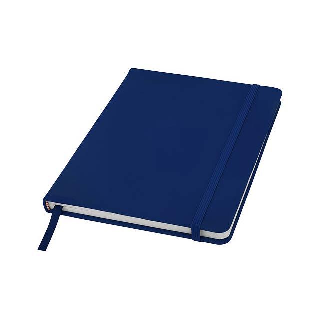 Spectrum A5 Notizbuch mit leeren Seiten - blau