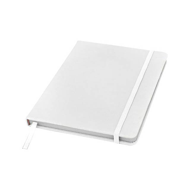 Spectrum A5 Notizbuch mit leeren Seiten - Weiß