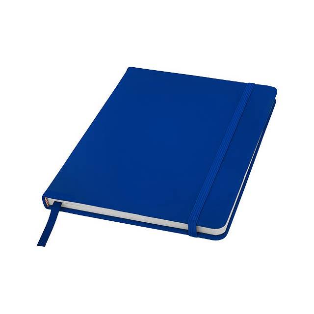 Zápisník A5 Spectrum – nelinkované stránky - modrá