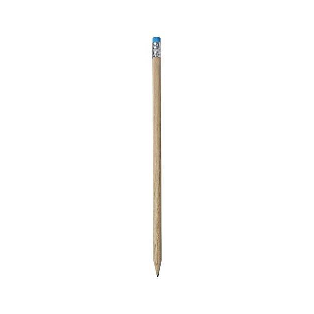 Cay hölzerner Bleistift mit Radierer - Beige