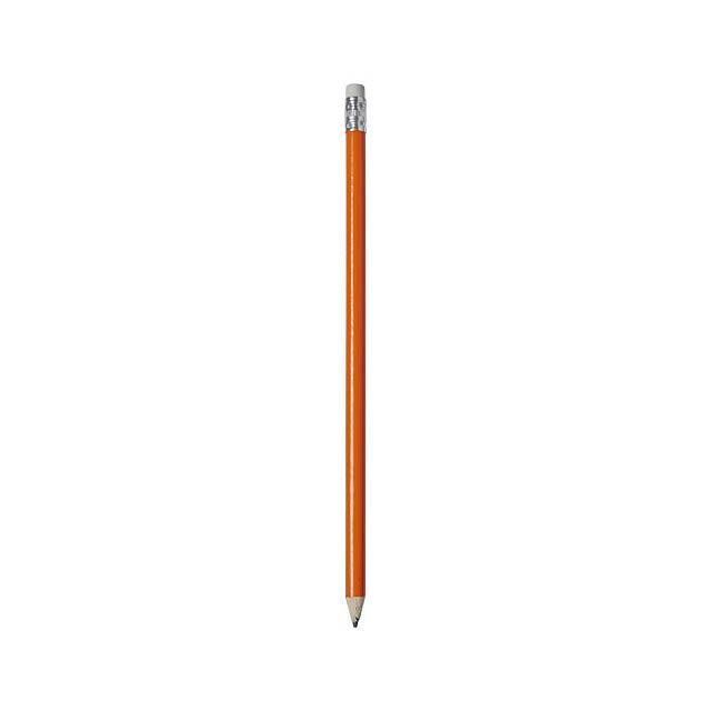 Tužka Alegra s barevným tělem - oranžová