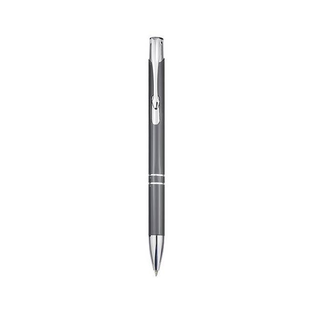 Kuličkové pero Moneta - šedá