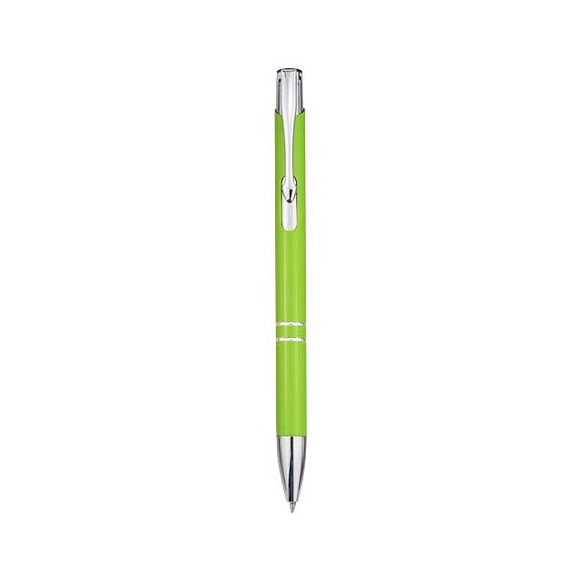 Kuličkové pero Moneta - citrónová - limetková
