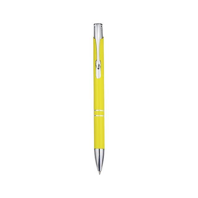 Kuličkové pero Moneta - žlutá