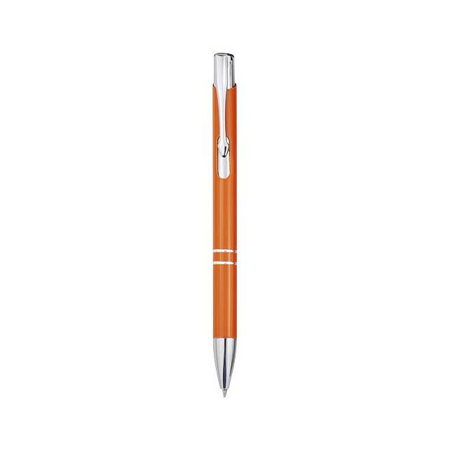 Moneta Druckkugelschreiber aus Aluminium - Orange