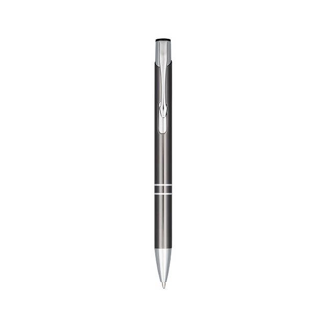 Anodizované kuličkové pero Moneta - šedá