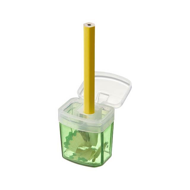 Ořezávátko s nádobkou Sharpi - zelená