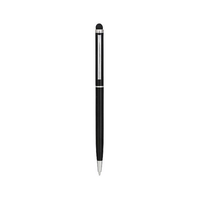 Hliníkové kuličkové pero Joyce - černá