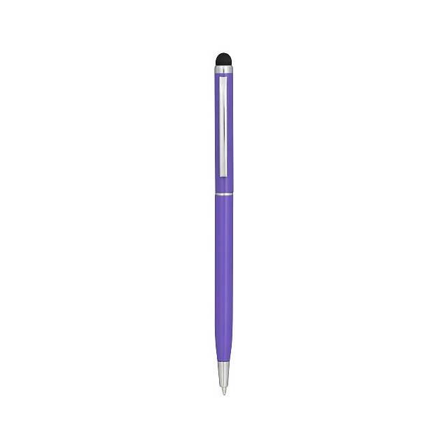 Hliníkové kuličkové pero Joyce - fialová