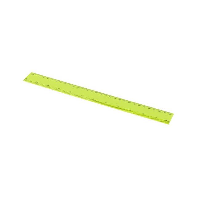 Pravítko Ruly 30 cm - citrónová - limetková