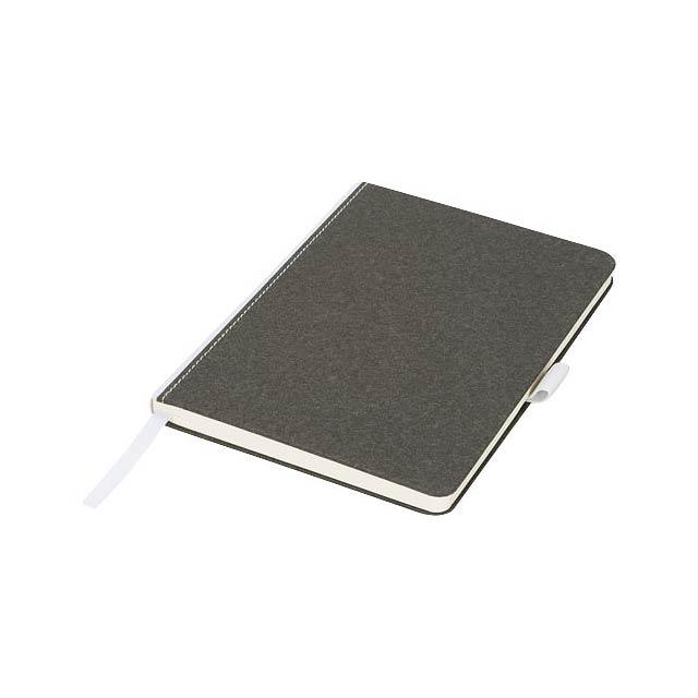 Středně velký lepenkový zápisník Espresso - černá