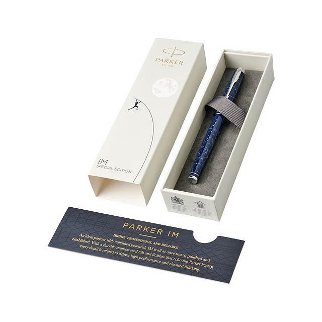 Parker IM Luxe plnicí pero speciální edice - modrá
