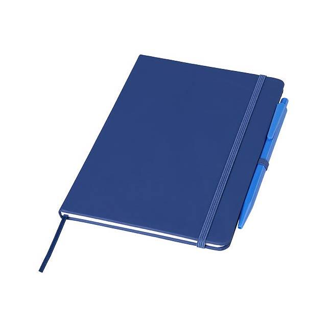 Zápisník Prime střední velikosti s perem - modrá