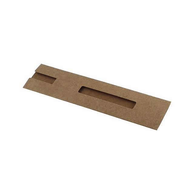 Nador Stifthülle aus Karton - Beige