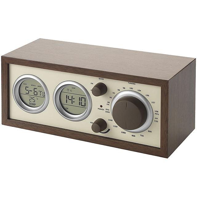 Klasické rádio  - hnedá