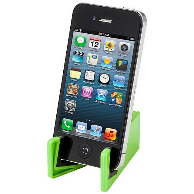 Stojánek na mobil - zelená