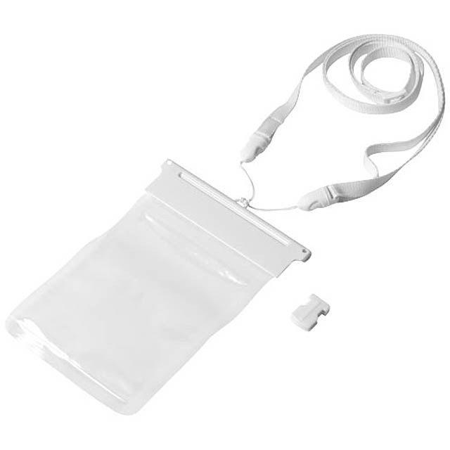 Vodotěsný obal Splash na chytrý telefon - bílá