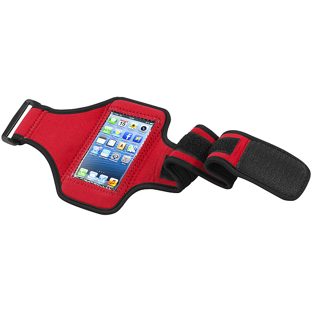 88d4104969 Sportovní obal na iPhone 5 - červená