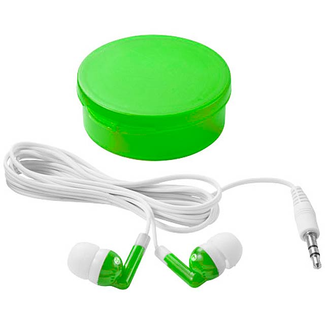 Versa earbuds - transparent green
