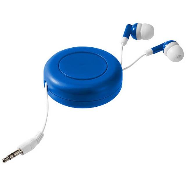 Samonavíjecí sluchátka Reely - královsky modrá