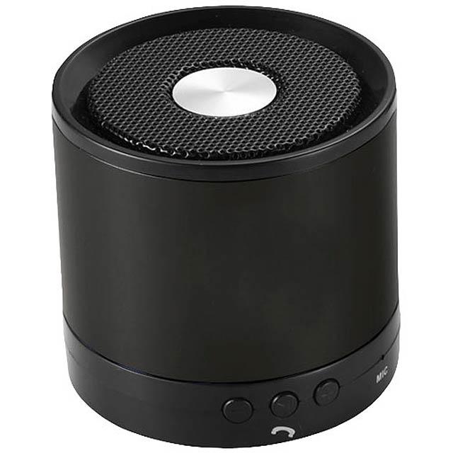 Hliníkový reproduktor Bluetooth® Greedo - černá