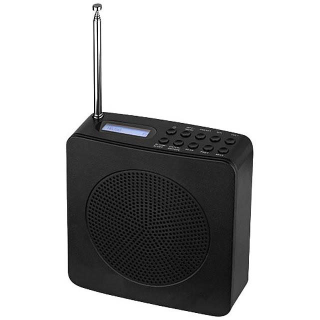 Radiobudík DAB - čierna