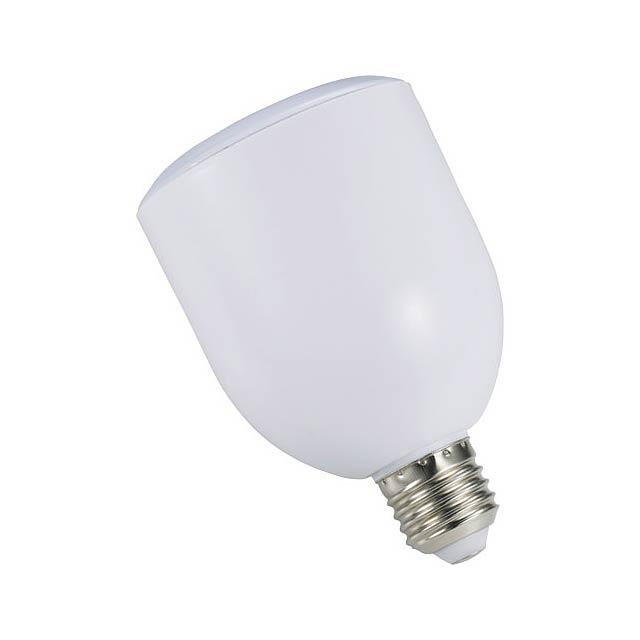 Reproduktor a žárovka Zeus LED Bluetooth® - bílá