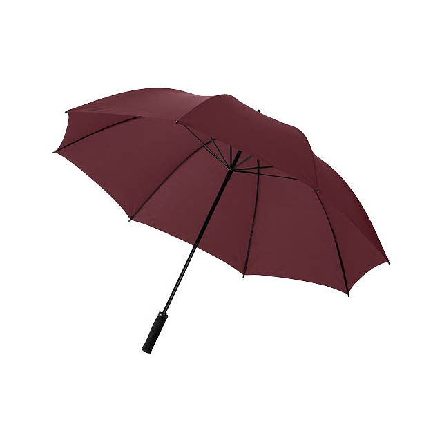 """30"""" golfový deštník Yfke s držadlem z materiálu EVA - hnědá"""
