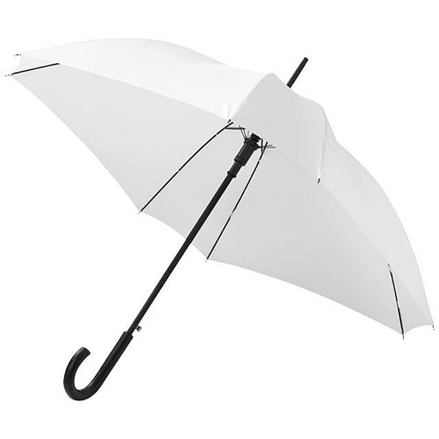 "Čtvercový automatický deštník Neki 23,5"" - bílá"