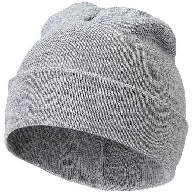 Čepice Irwin - šedá