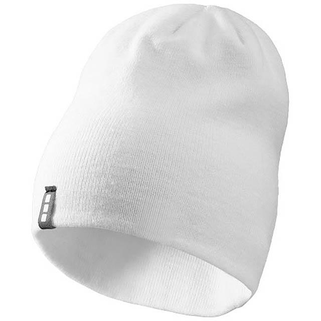 Čepice Level - bílá