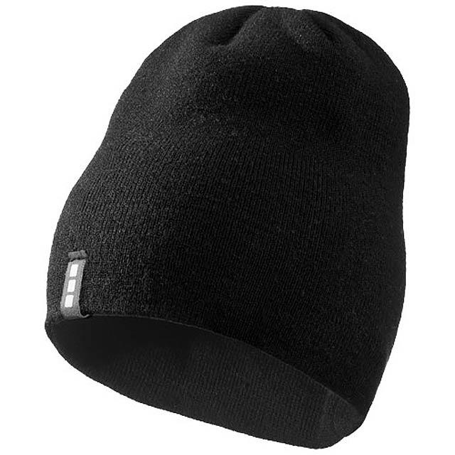 Čepice Level - černá