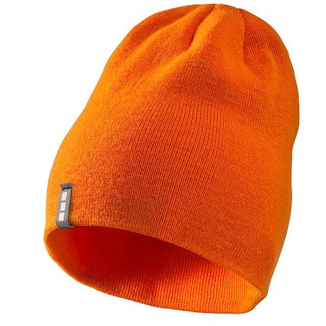 Čepice Level - oranžová
