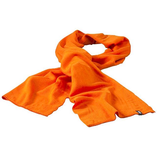 Mark pletená šála zn. Elevate - oranžová 774b717ee0
