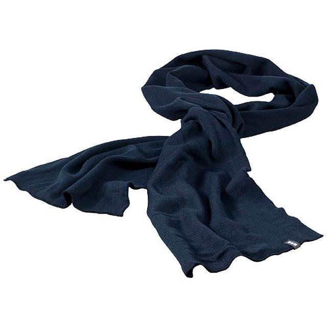 Mark pletená šála zn. Elevate - modrá 47921b5ce6